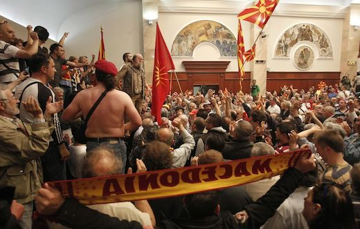 The Attack on MPs in Macedonia is Direct Attack on Democracy - BiEPAG