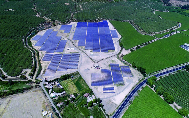Building Energy inaugurates 8.2-MW Queule PV park in Chile