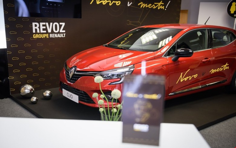 Slovenia's Revoz launches production of new Renault Clio 5