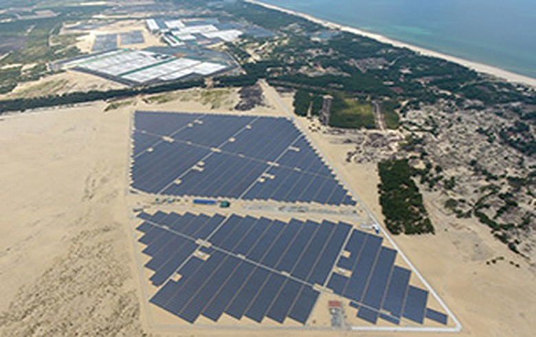 Sharp inaugurates 35-MW solar power plant in Vietnam