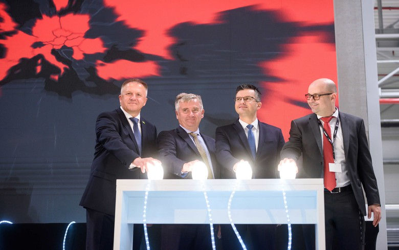 Magna International opens new paint shop in Slovenia