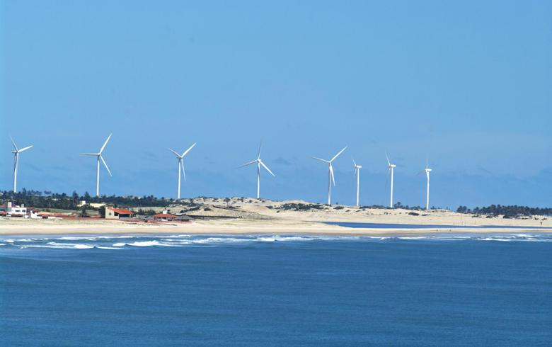 Brazil's wind generation decreases 2% in 1st half of Nov