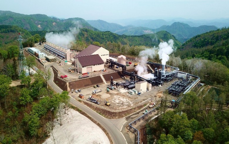 Japanese geothermal plant of 46 MW starts operations
