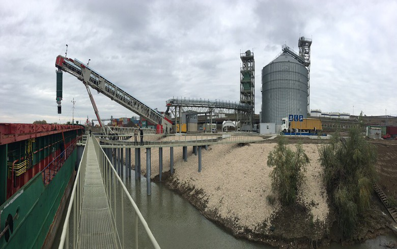 Moldova's Trans-Oil starts works on sunflower oil plant at Giurgiulesti port