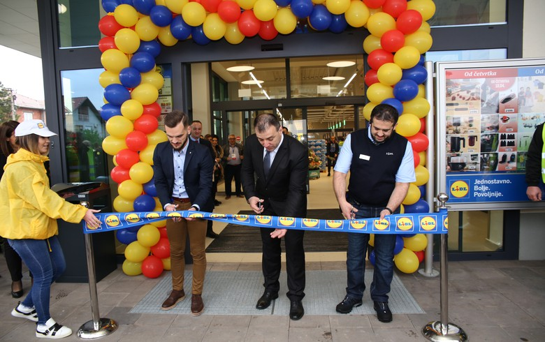 Germany's Lidl opens two more stores in Serbia