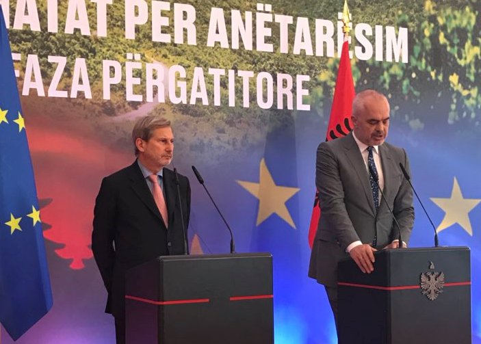 EU launches first step toward accession talks with Albania