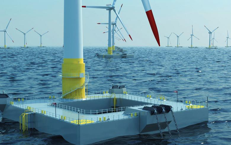 Atlantis, Ideol plan huge floating wind farm in UK waters