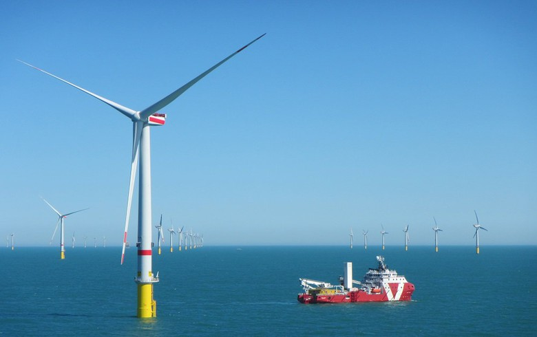 All turbines feeding power at 450-MW Borkum Riffgrund 2 in Germany