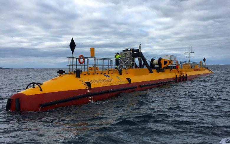 Tidal turbines developer Scotrenewables gets private investment