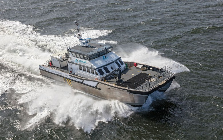 Seacat Services catamarans to support Beatrice construction