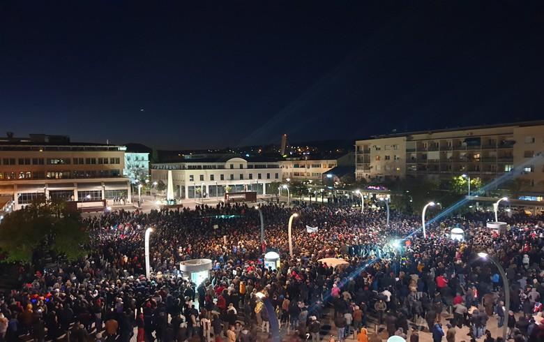 Thousands rally to demand Montenegro's govt resignation, media freedom