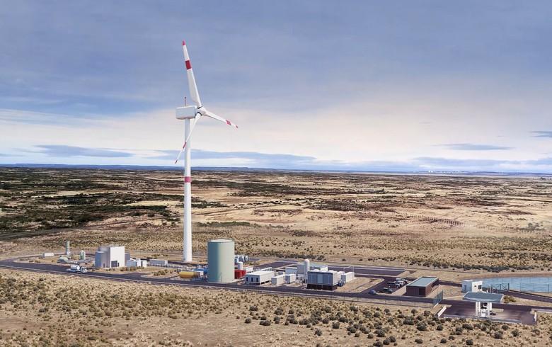Porsche's hydrogen-to-e-fuels plant under construction in Chile
