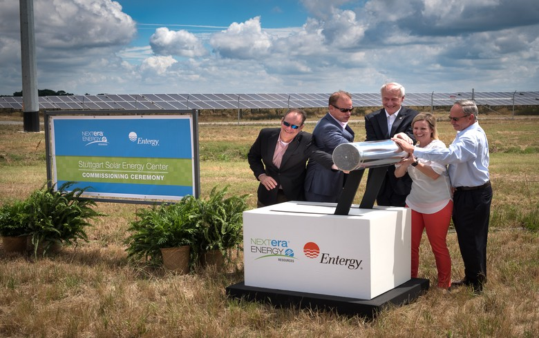 Entergy Arkansas plans 100-MW solar-plus-storage project