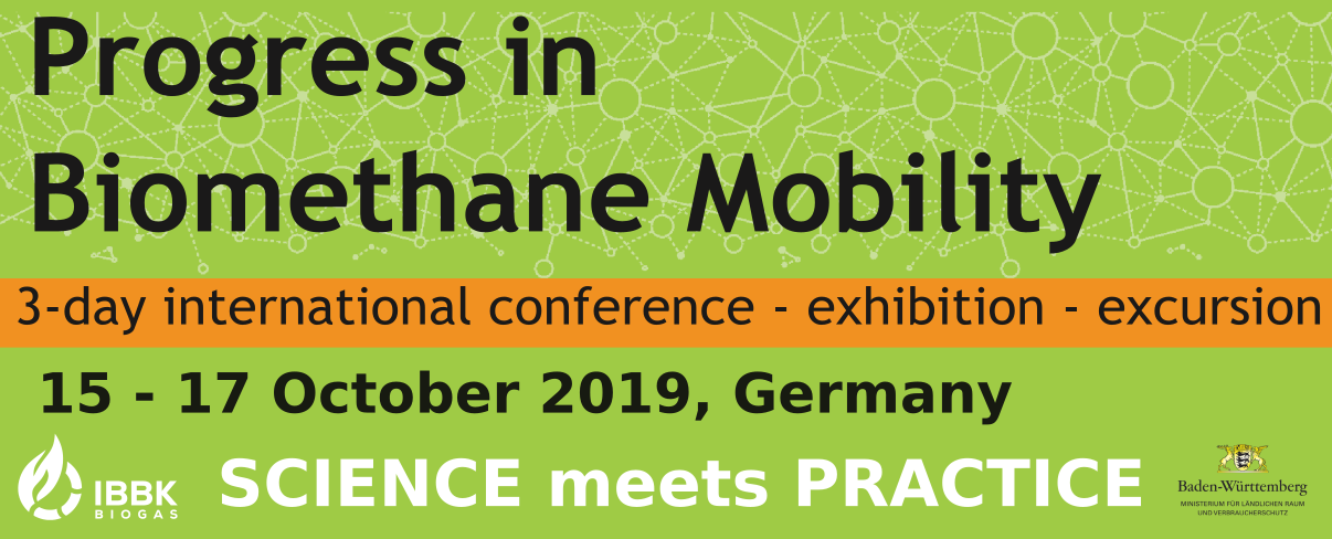International Conference Progress in Biomethane-Mobility