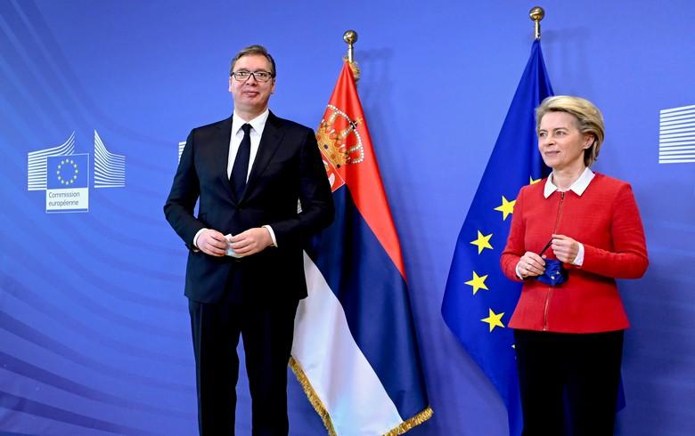 欧盟准备向塞尔维亚提供6亿欧元援助。马其顿铁路连接到武契奇