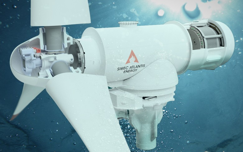 SIMEC Atlantis forms tidal turbine partnership with GE