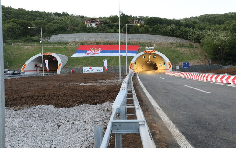 Serbia completes construction of its part of Corridor X motorway