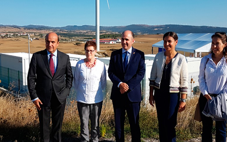 Acciona opens wind energy storage plant in Spain