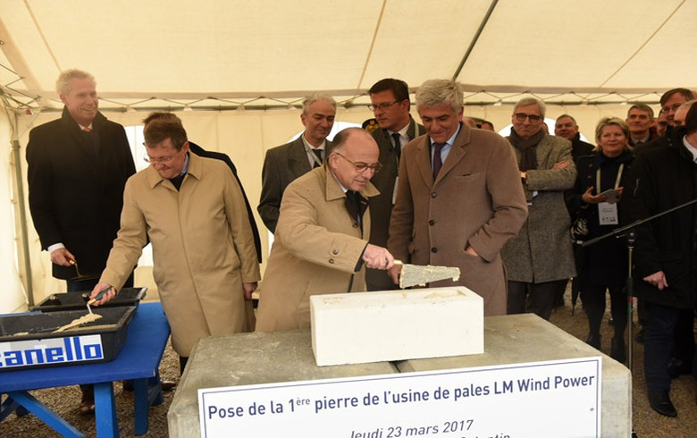 LM Wind Power breaks ground on French blade factory