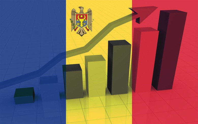Moldova's economy grows by real 4.5% in 2017