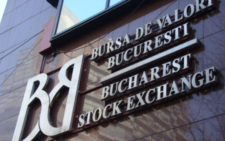 Bucharest stock indices end in the red in higher turnover