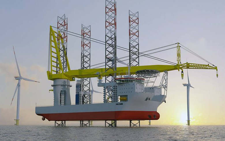 SSE contracts jack-up installation vessel for Dogger Bank project
