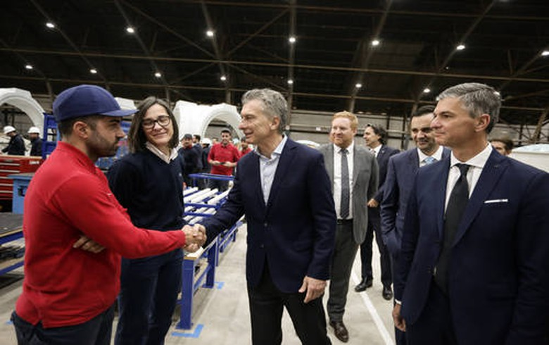 Nordex inaugurates wind turbine factory in Argentina