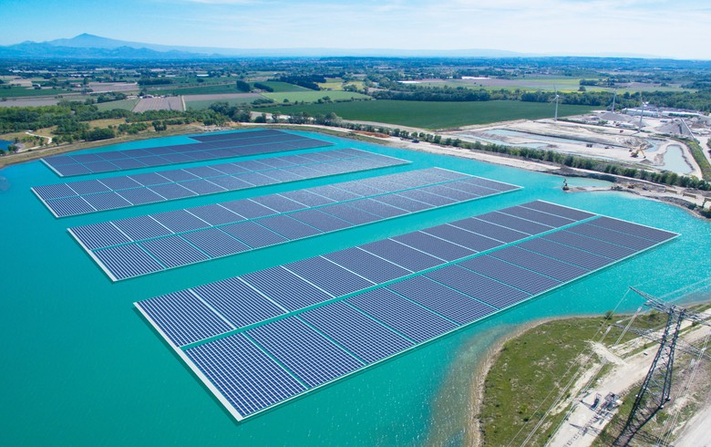 to-the-point: Trina Solar modules to power 17-MW floating PV plant in France