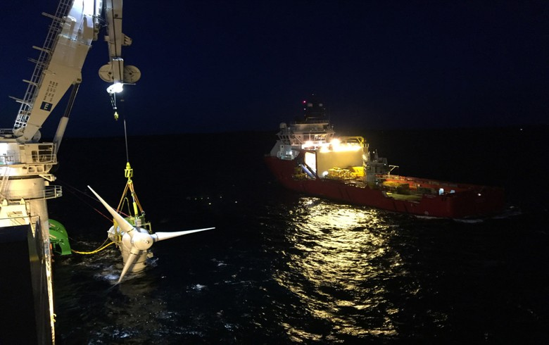 Simec Atlantis To Retrieve Two Meygen Turbines For Repairs