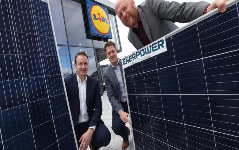Lidl plans EUR-1m solar investment at Irish distribution site