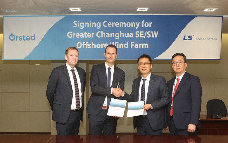LS Cable nabs subsea cabling deal for 900-MW wind project off Taiwan