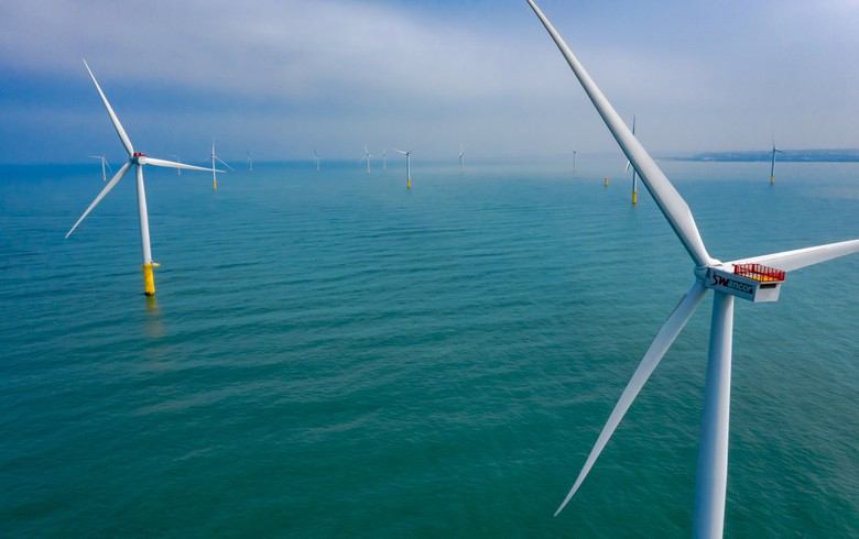 All turbines installed at Taiwan's 1st commercial offshore wind park