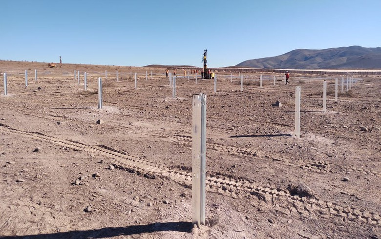 Mainstream preps for panel installation at 145-MW solar site in Chile