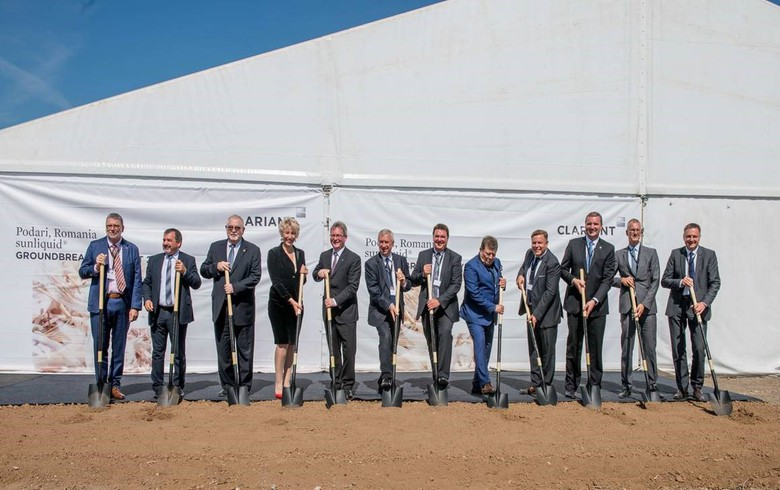 Switzerland's Clariant breaks ground for ethanol plant in Romania