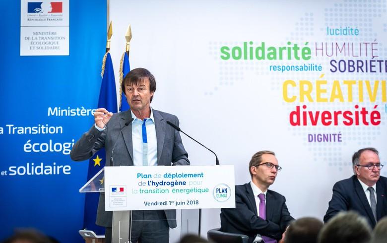 France unveils hydrogen ambitions