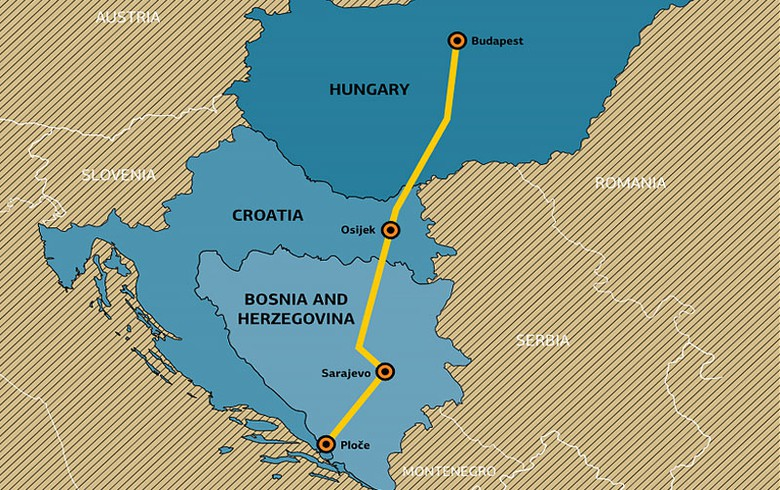 Bosnia to sign 76.6 mln euro road construction deal with Azvirt-Hering consortium