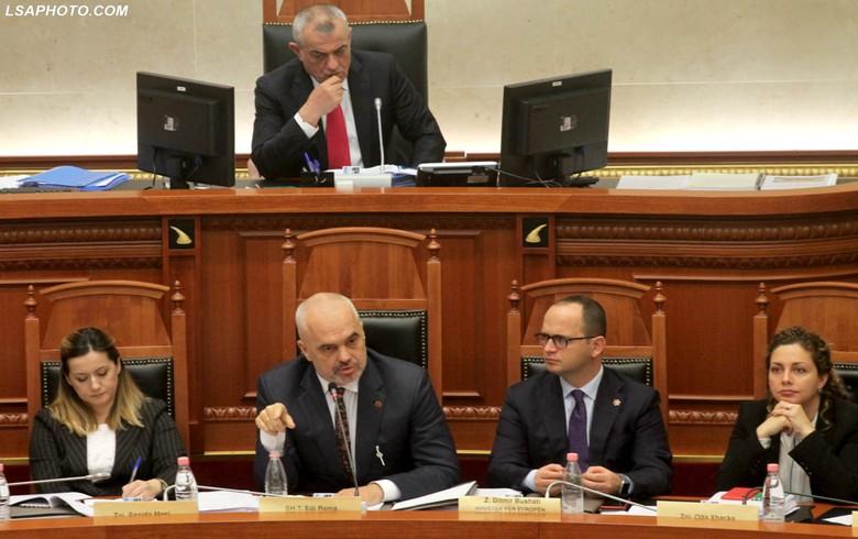 Albania's parliament endorses government reshuffle